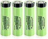 Batería Recargable Ncr18650B NCR 18650B 3400Mah 3.7V Batería 18650 Ion De Litio Li Ion-4Pcs