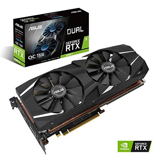 ASUS GeForce RTX 2080 Ti O11G Dual-fan OC Edition GDDR6 HDMI DP 1.4 USB Type-C graphics...