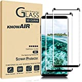 Galaxy S9 Screen Protector,Full Coverage Tempered Glass[2 Pack][3D Curved] [Anti-Scratch][High Definition] Tempered Glass Screen Protector Suitable for Galaxy S9 (NOT S9 Plus)