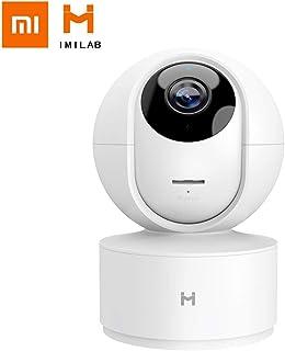 Mijia Cámara de Seguridad Doméstica 360° 1080P HD Respuesta de Emergencia en 24 Horas del 24 Horas Auto-Crucero Pista de Movimiento Visión Nocturna App iOS / Android Disponible