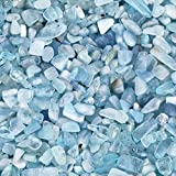 mookaitedecor 450 gramos de piedras preciosas naturales para decoración, piedras decorativas para...