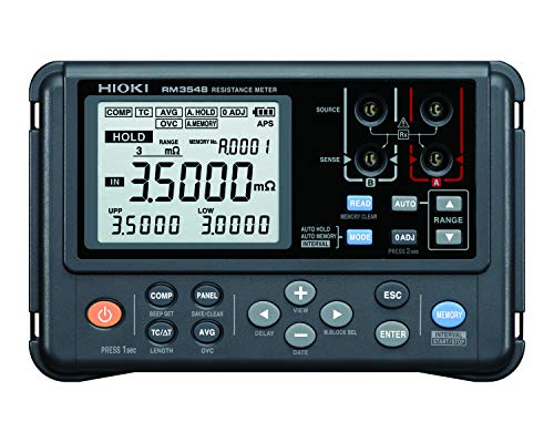 Hioki RM3548 Multimeter, High-Precision Portable Resistance Milli-Ohmmeter