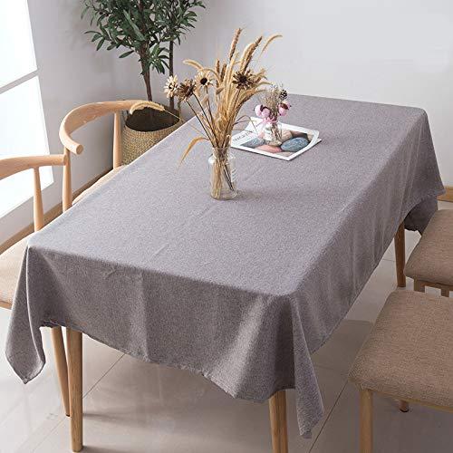 LYDCX Nappe De Lin De Coton De Style Japonais Simple Tissu De Couverture De Style Chinois Table À Manger Table À Café en Tissu Meubles Couverture Électrique Serviette