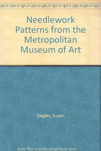 Purchase Needlework Patterns from the Metropolitan Museum of Art