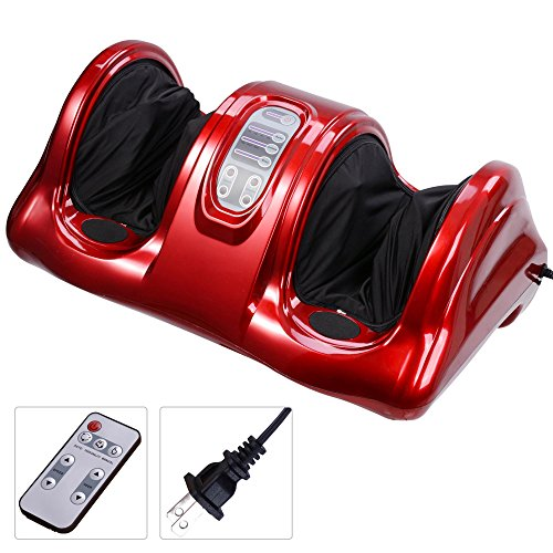 AW Shiatsu Foot Massager Kneading and Rolling Leg Calf...