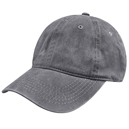 Unisex Fashion Jeans Baseball Cap Mütze Kappe Hut Sonnenhut Baseball Hip Hop Cap Sommerhut für Damen Herren Mädchen Jungen