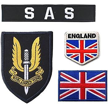 Oyster-Patch - Gancho de Parche táctico SAS del ejército británico del Reino Unido, Azul: Amazon.es: Deportes y aire libre