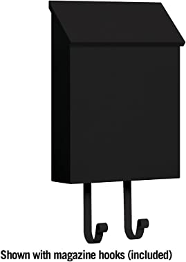Salsbury Industries 4620BLK, Black Traditional Mailbox, Standard, Vertical Style