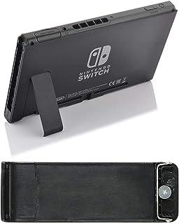 MMOBIEL Kickstand Behuizing Beugel compatibel met Ni-ntendo Switch Console Houder Standaard Zwart