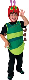 Amscan 9902972 Childs Unisex Official The Very Hungry Caterpillar Licensed Tabard and Hat Fancy Dress Costume (3-5 years)
