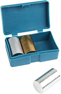 POPETPOP 3pcs Metal Cylinder Set Aluminum Copper Iron for Specific Gravity Specific Heat Labs Experiments Tool