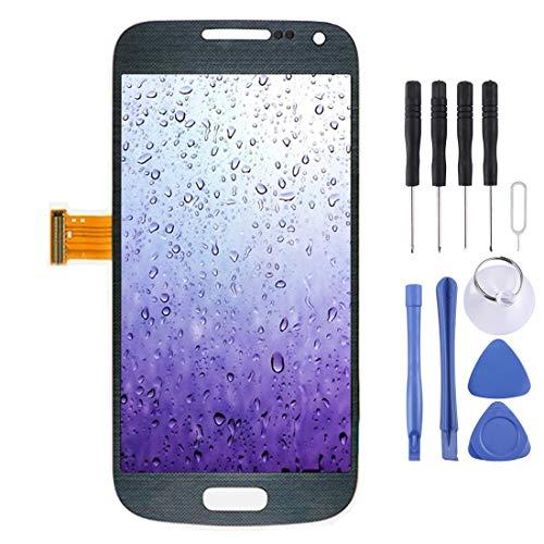 Cellulari Sostituzione dello Schermo LCD e di Ricambio Digitizer Assemblea Completa for Il Galaxy S IV Mini / i9195 / i9190 (Bianco), Repair Tool Completa (Colore : Black)