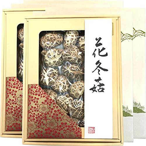 高級 干ししいたけ 国産 花どんこ 200g×6箱セット 巣鴨のお茶屋さん山年園