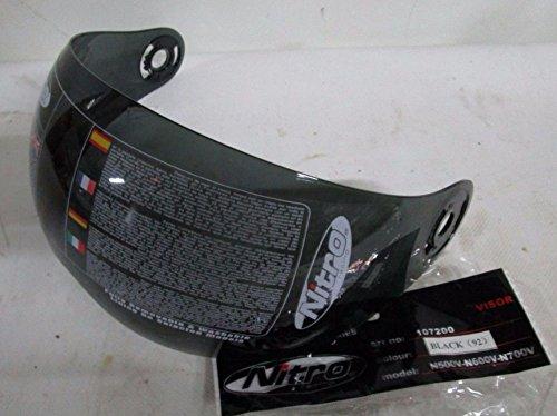 Visera original Nitro ahumada para casco Jet Nitro N 500 V – N 600 V – N 700 V
