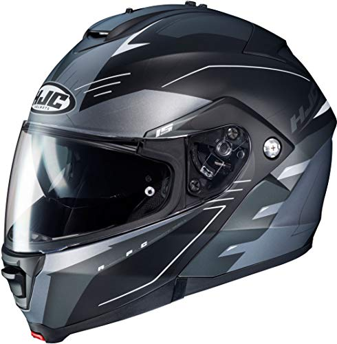 HJC IS MAX II CORMI MC5SF – Casco de moto (talla XS), color negro y gris