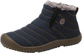 [MyMei] 男女兼用 スノーブーツ ブーツ ショートブーツ エンジニアブーツ 厚底 アウトドア カジュアルシューズ 裏起毛 暖かい 防寒 滑り止め 秋冬作