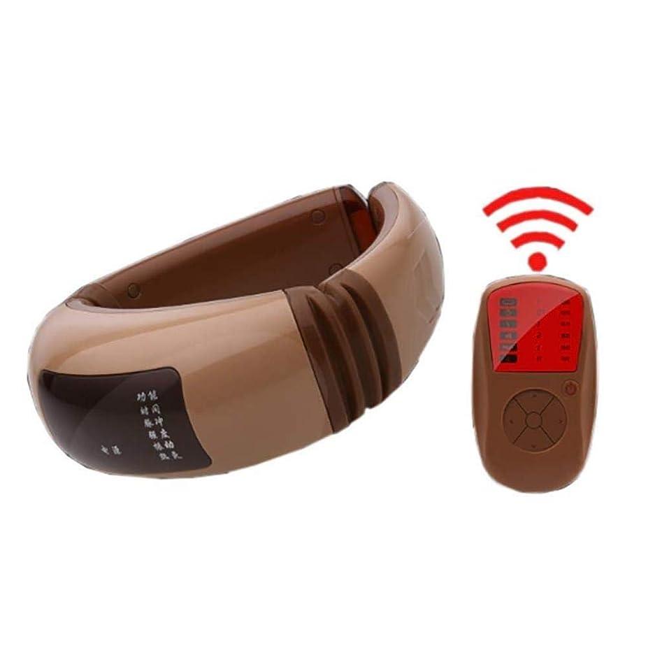 敵リマークサバントマッサージャー、ポータブルスマートネック振動マッサージャー、USB充電、デジタルディスプレイ、車のホームオフィスで使用