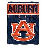 The Northwest Company Auburn Tigers 'Basic' Raschel Throw Blanket, 60' x 80' , Blue