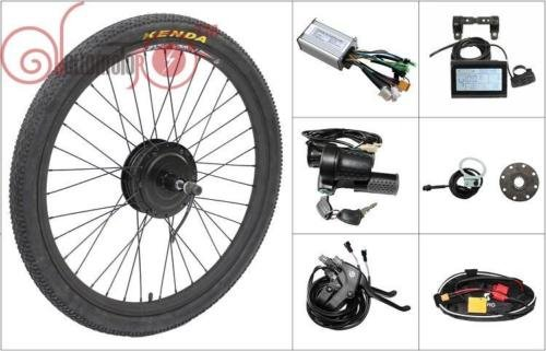 36V 350W 8Fun Bafang Front Hub Motor 26inch Wheel Ebike Conversion Kit Controller, Throttle, Brake For Electric Bicycle