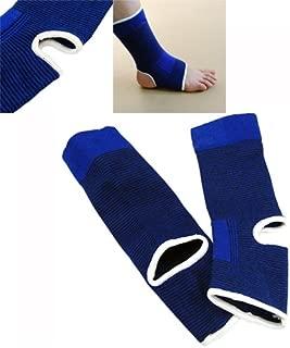 HealthyNeeds Super sell Blue Elastic Neoprene Ankle Support Feet Protector Brace Sport Sock Unisex