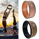 CampHiking Natürliches Kork Yoga Rad - Starker Premium Rolle