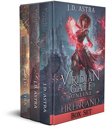 Viridian Gate Online - Firebrand: Books 1 - 3 (Firebrand, Embers of Rebellion, Path of the Blood Phoenix) (English Edition)