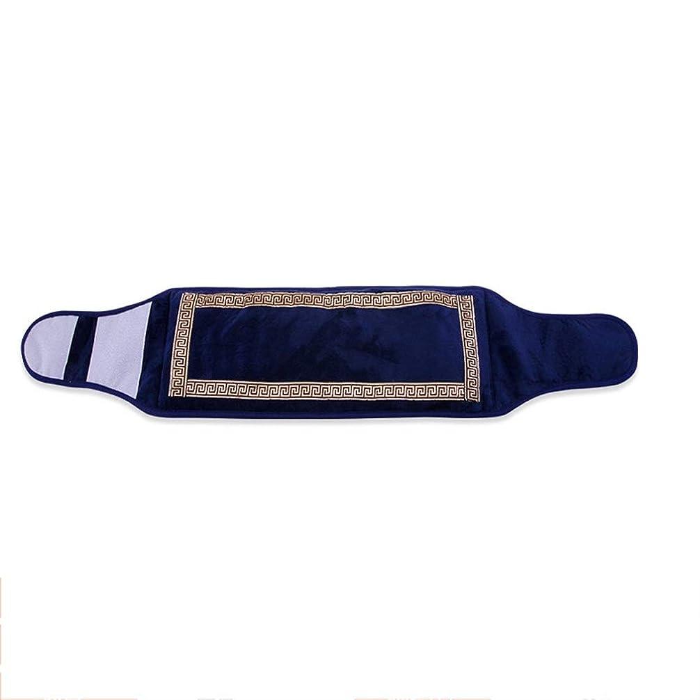 知性ポット夕食を作る戻る腹部胃のけいれん関節炎の痛みを軽減するためのポータブルウエスト電気暖房パッドベルト高速加熱フィルム9の温度設定のパーフェクト 腰痛保護バンド (色 : 青, サイズ : 115×27CM)