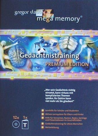 Mega Memory Gedächtnistraining Premium Edition - Textband plus 12 CDs