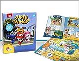 takestop® Juego Super Wings de viaje con libro ilustrado de dibujos animados Magic Nickleodon Juego educativo idea regalo niño niños 3-6 años