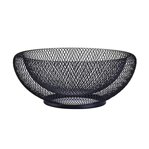 Forma aperta e funzione: La nostra iconica moderna ciotola rete metallica è una forma aperta e funzione. Ispirato dai disegni di fama mondiale: E 'stato incluso nella collezione del museo di architettura moderna.Questa ciotola molto popolare è abilme...