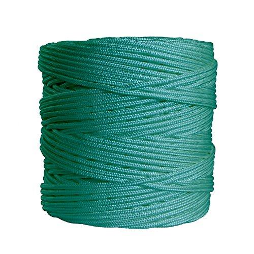 Wurko Cuerda Trenzada, Nylon, Verde, 17x17x16 cm