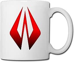 Christina F1 Formula One Kimi Raikkonen Logo Ceramic Coffee Mug Tea Cup White