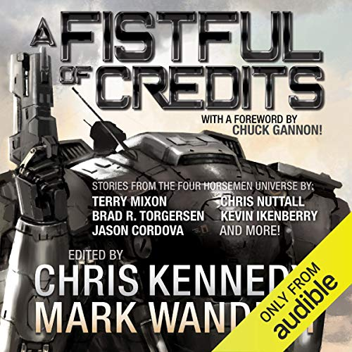 Couverture de A Fistful of Credits: Stories from the Four Horsemen Universe