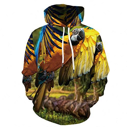 beautifulle 2021 Neue 3D Hoodies Lion Sweatshirts Männer Tier Hoody Anime Anime 3D Gedruckt Wild Hoodie Print Lustiges Sweatshirt Printed-Black_110