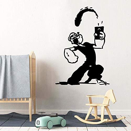 Tianpengyuanshuai muurstickers, vinyl, decoratie voor kinderkamer, decoratie voor kinderkamer, kinderkamer, muursticker, afneembaar
