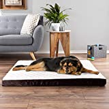 PETMAKER Charcoal Infused Pet Bed – Charcoal Infused Egg Crate Foam Orthopedic Cushion, Nonslip, Machine Washable Cover