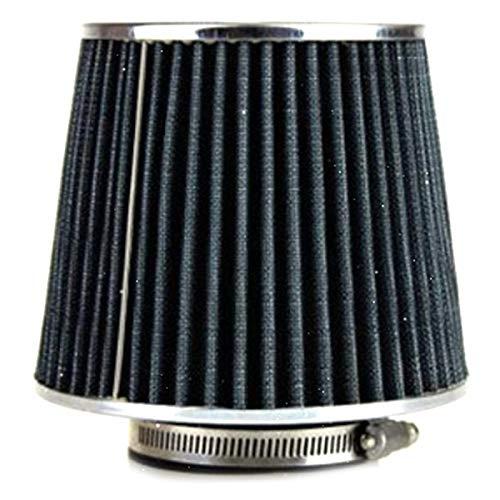 SDUIXCV 76mm Carreras Coche Universal Filtro De Aire Auto Carbono Flujo De Energía Aire Limpiador De Filtro De Aire Redondo Cono Cónico (Color : Small)
