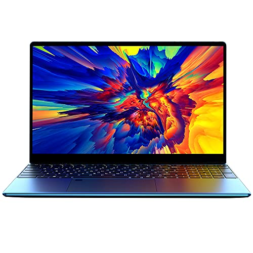 Qalabka Ordenador portátil, X10 portátil de Oficina Ultrafino de 15,6 Pulgadas procesador AMD Athlon Gold 3150U 8 GB + 256 GB de Memoria 1920 * 1080 Pantalla IPS Enchufe Azul de la UE
