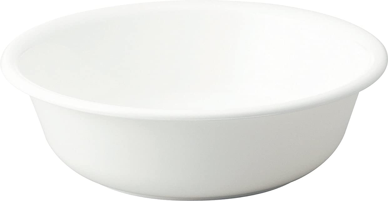 偽造物理的に想定するリス 洗面器 『防カビ加工』 H&H ホワイト