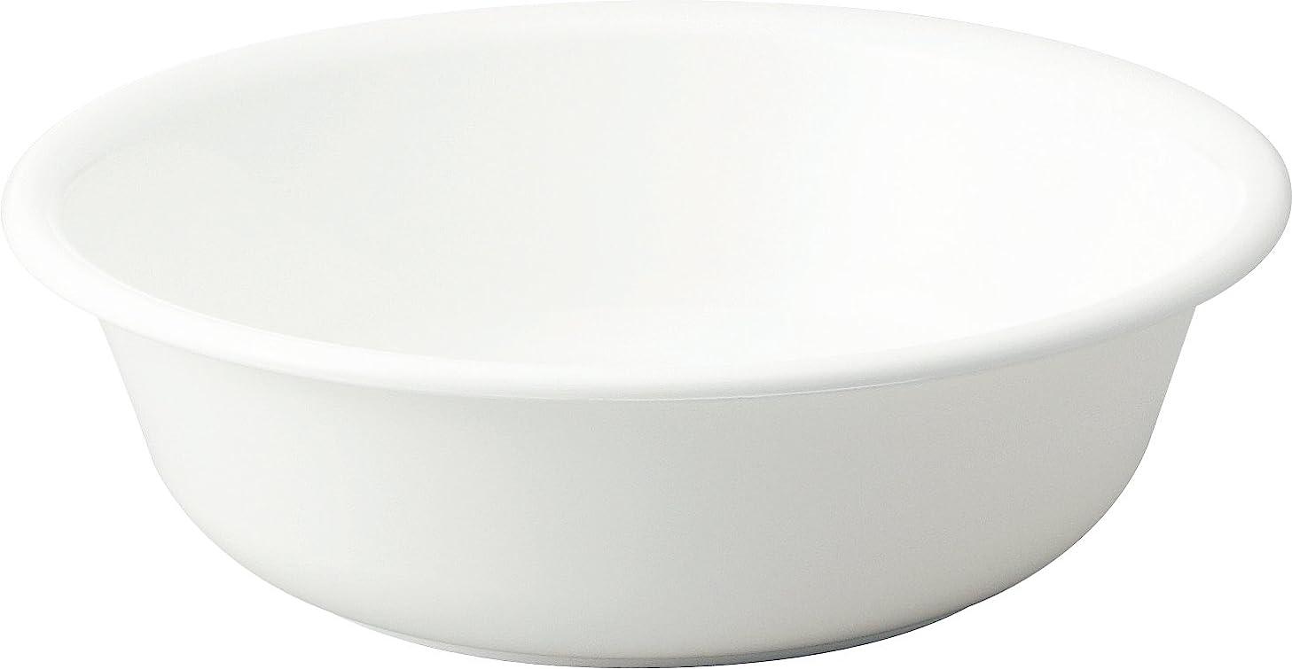 ヒューマニスティック無秩序遅れリス 洗面器 『防カビ加工』 H&H ホワイト