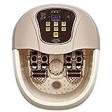 SCJ Masajeador de baño de pies con Calentador, masajeador de SPA de pies con Burbujas y vibración, Control de Temperatura, bañera de pedicura, Masaje de pies, spas de pies con calefacción para u