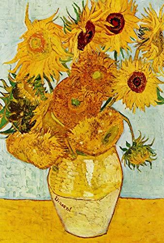 Grande Toile Art Van Gogh Tournesols 76,2 x 50,8 cm prête à Suspendre Motif intérieurs