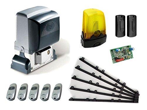 CAME BX-78 Kit completo – (BX-78, AF43S, DIR10, 5 x TOP432EE, KLED), 230 V + 5 m Nylon Gear Rack, W-20mm, para puertas correderas con un peso de hasta 800 kg: Amazon.es: Bricolaje y herramientas