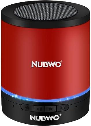 Bluetooth Speaker,Nubwo Wireless Portable Travel Mini...