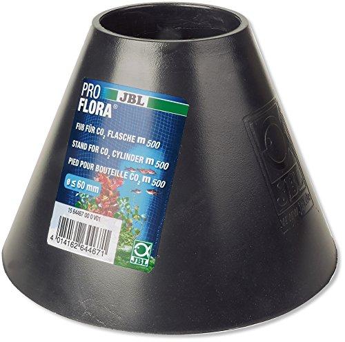 JBL 64467 Standfuß für Flaschen von CO2-Düngeanlagen für Aquarien Fuß CO2-Flasche