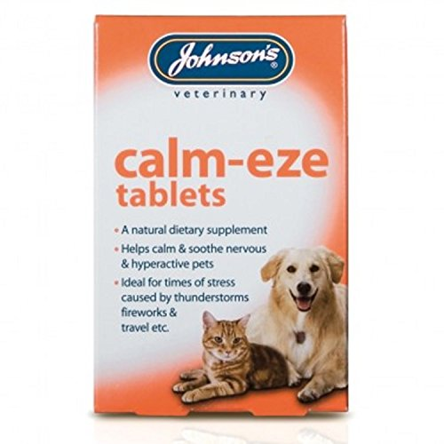 Johnson's Calm-Eze Tablets for Cats and Dogs (36 Tablets)