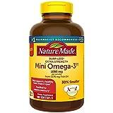Nature Made BurpLess Extra Strength 1080mg Mini Omega 3 Fish Oil (180 ct.)