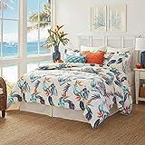 Tommy Bahama Birdseye View Comforter Set, Queen, Blue