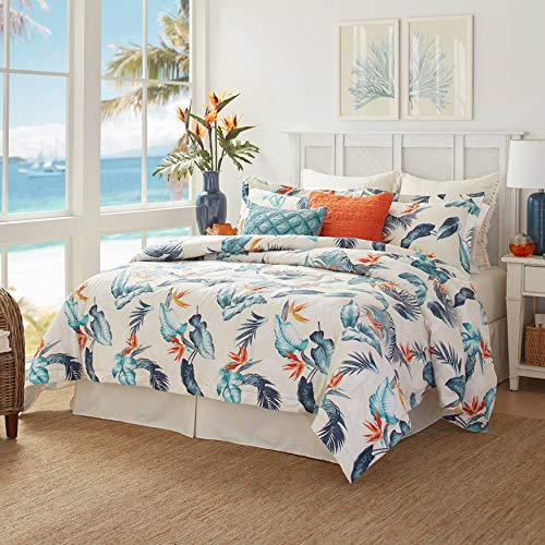 %40 OFF! Tommy Bahama Birdseye View Comforter Set, California King, Blue