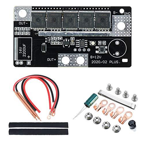 KKmoon Punktschweißgeräte 12V DIY tragbare Punktschweißmaschine Batteriespeicher Leiterplatte Schweißgerät für 18650 26650
